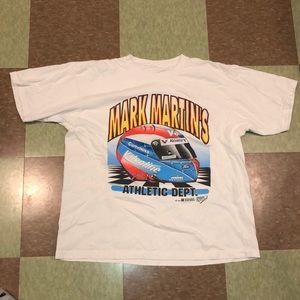 Vtg 90s nascar Graphic T-shirt Lg